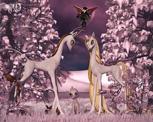 The Magic of Mistletoe by RavenMoonDesigns