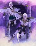 Zodiac Series: Gemini ~ Twins by RavenMoonDesigns