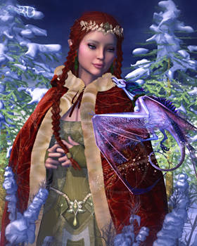 Blessings from the Lady of Yule