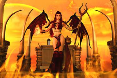 Summoning Dragonfire by RavenMoonDesigns