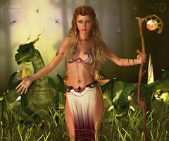 Mage of the Everglades by RavenMoonDesigns