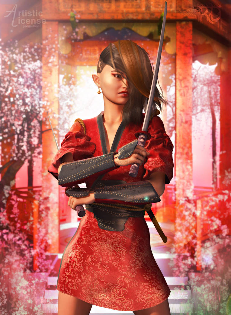 The Onna-Bugeisha by RavenMoonDesigns
