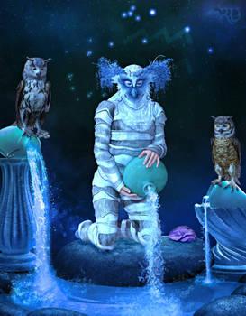 Zodiac Series: Aquarius ~ Water Bearer