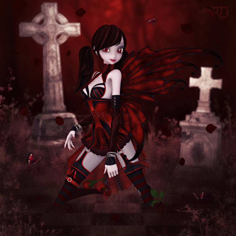 A Darker Rose by RavenMoonDesigns