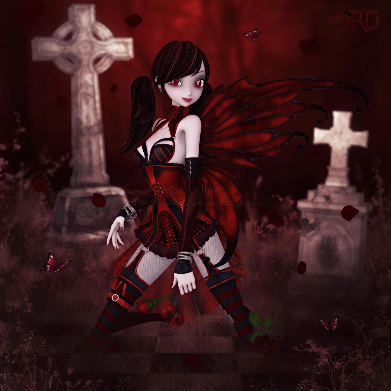 A Darker Rose by RavenMoonDesigns