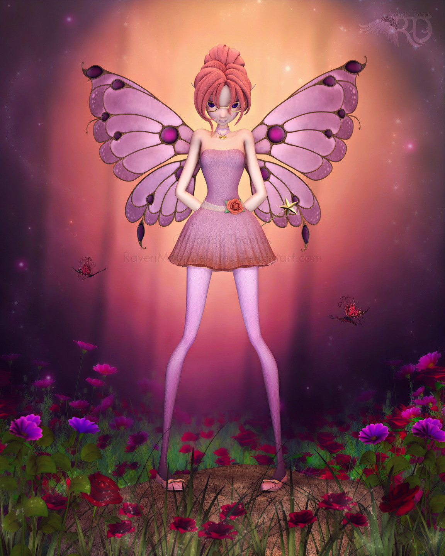 A Rosy Wildwood by RavenMoonDesigns
