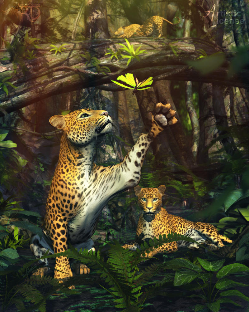 Jungle Pastimes by RavenMoonDesigns