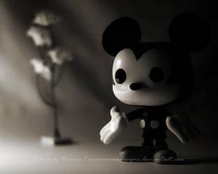 Mickey's Balance of Light by RavenMoonDesigns