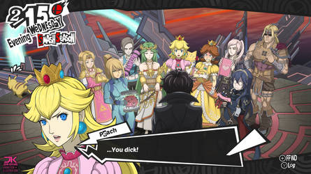 Smash Bros Ultimate x Persona 5 - True Ending