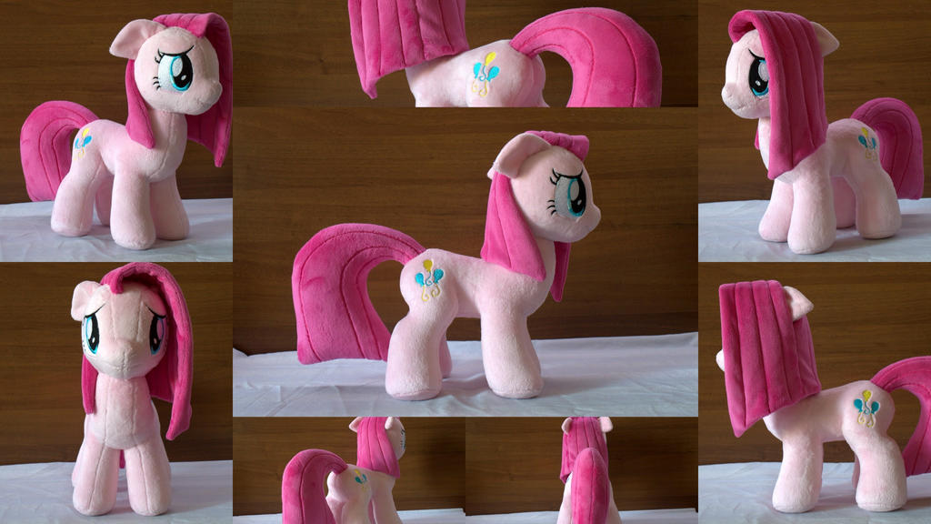Mlp Pinkamena plush (commission) by Egalgay