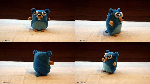 Gopher Toy  plush (commission)