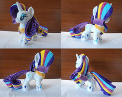 MLP Rainbow Power Rarity Plush by Egalgay