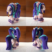 MLP Aria Blaze Plush (commission) by Egalgay