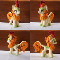 Mlp Autumn Blaze handmade plush by Egalgay