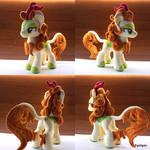 MLP Autumn Blaze handmade plushie by Egalgay