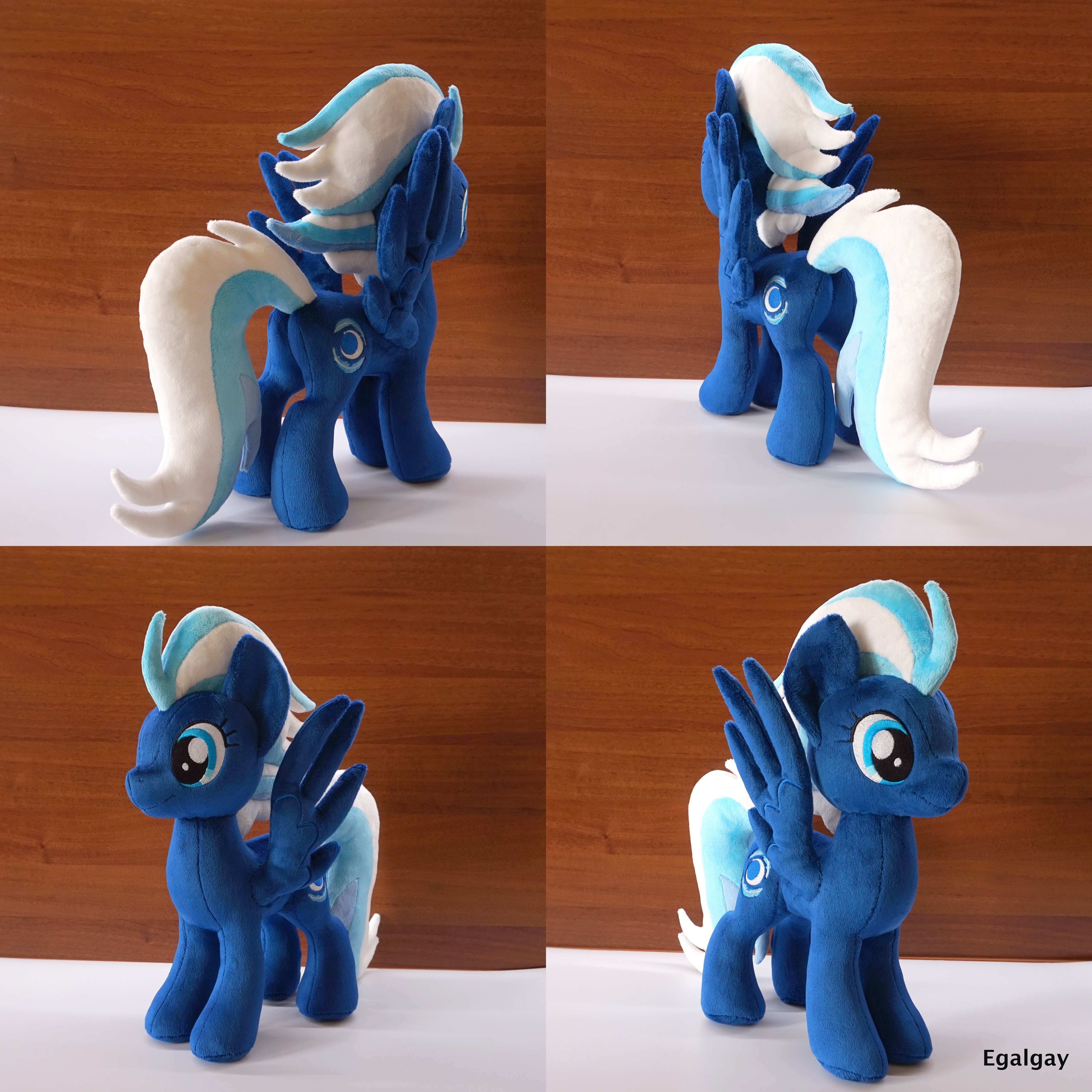 MLP Night Glider Plush by Egalgay