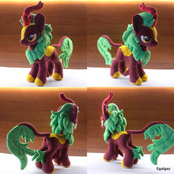 MLP Autumn Flare Kirin plush by Egalgay