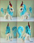 Mlp Rain Shine Kirin handmade plush