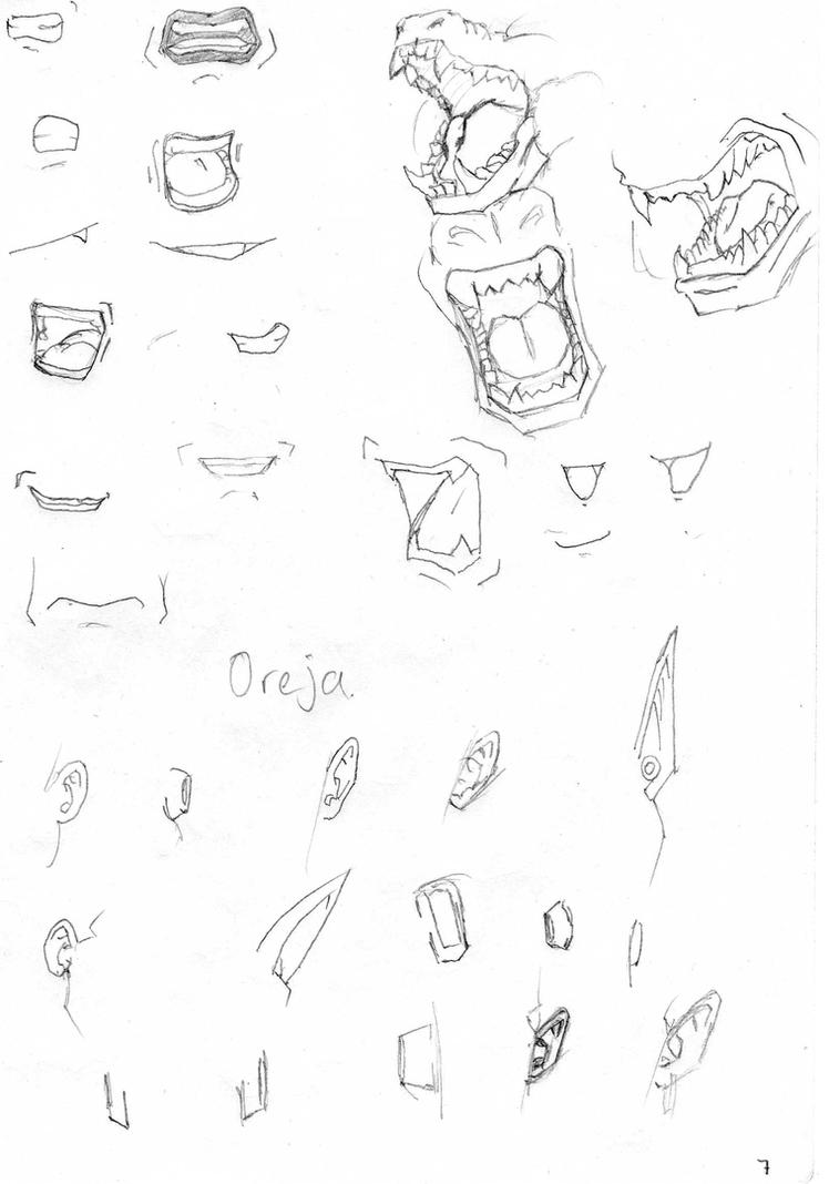 bocas y orejas db by rasec-dragon-91 on DeviantArt
