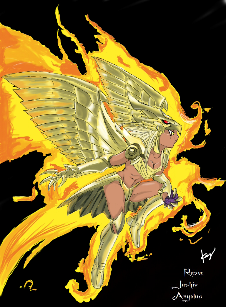 Genderswamp The Winged Dragon Of Ra Color By Rasec Dragon