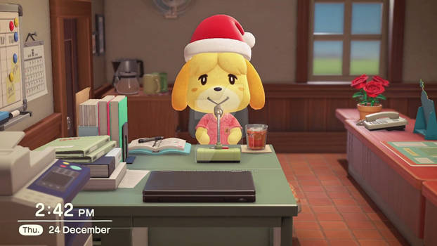 Isabelle on Toy Day (Island Outfit)