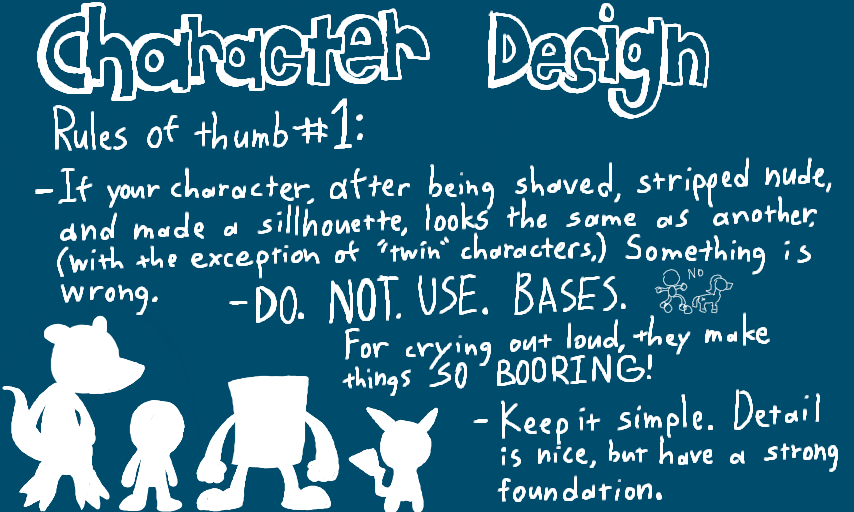 Top 40 Character Design Tips : Character design tips by crazyriverotter on deviantart