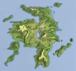 Belnkre Continental Map