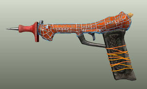 Gammapunk Laser Pistol