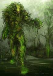 Swampthing by magbhitu