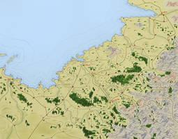 C'theca Regional Map