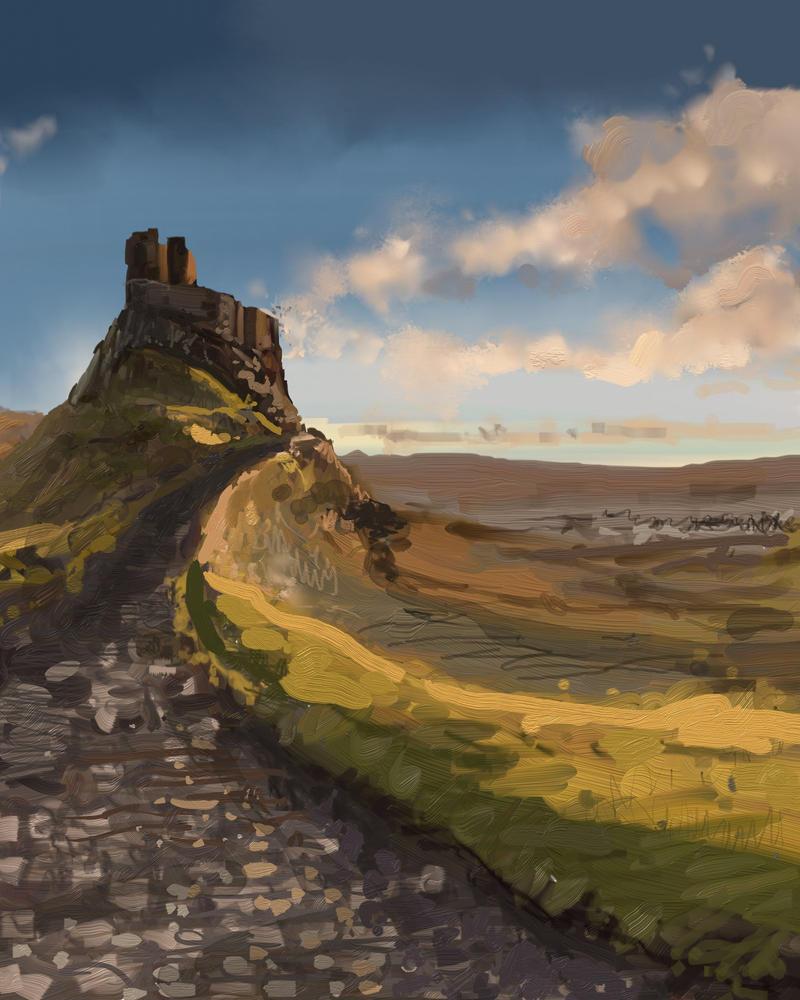 Lindisfarne by magbhitu