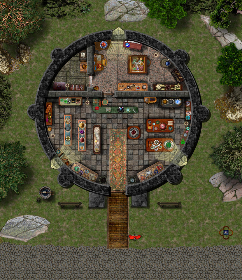 The Alchemist Shop By Bogie Dj On Deviantart