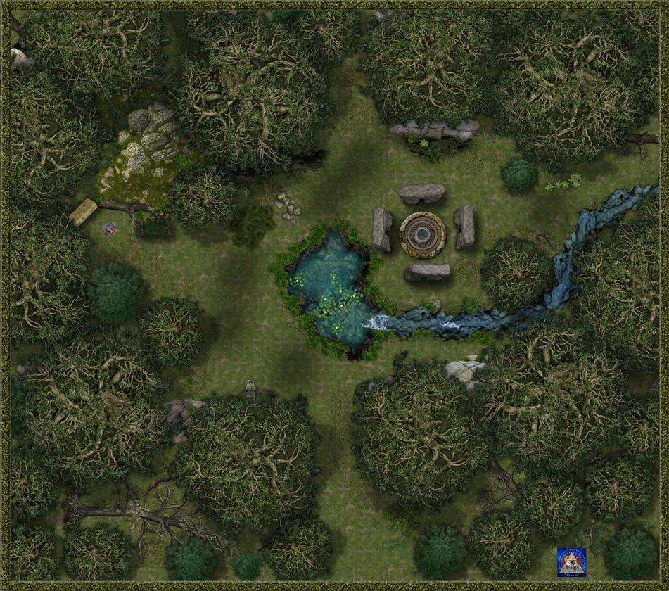 Druid's Grove, Daytime by Bogie-DJ