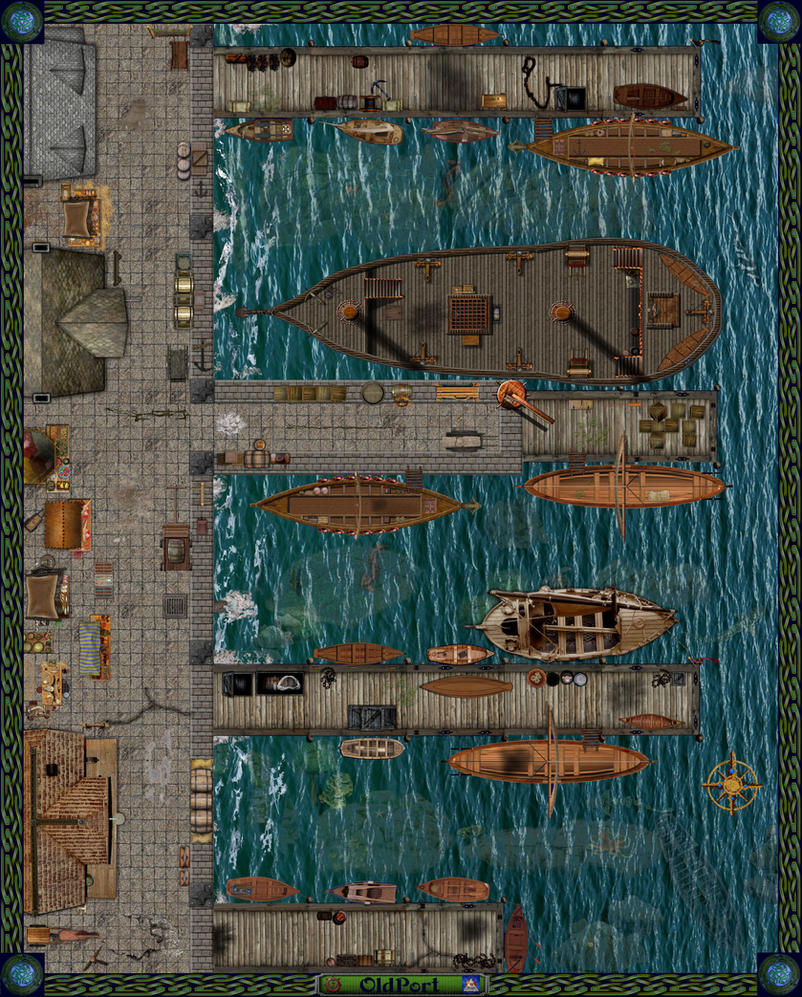 Old Port ( version 2 ) by Bogie-DJ