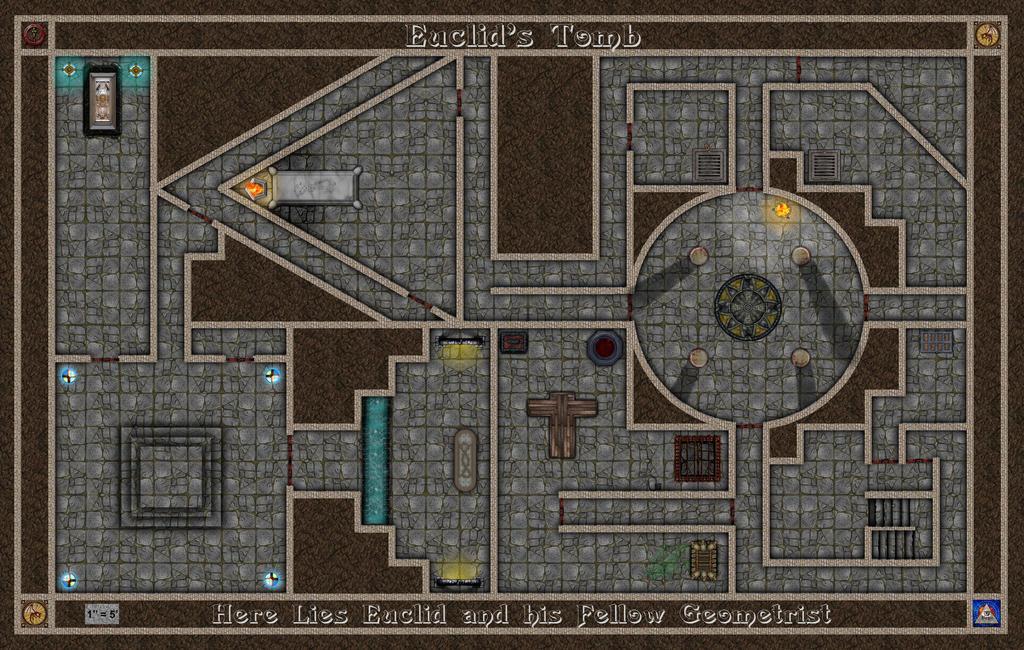 Euclid's Tomb by Bogie-DJ