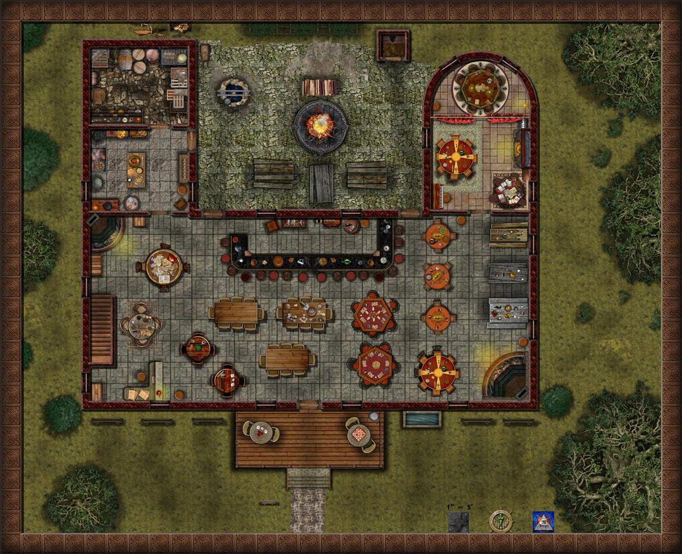 Grid Death Rooms Game
