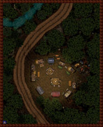 Caravan Campsite by Bogie-DJ