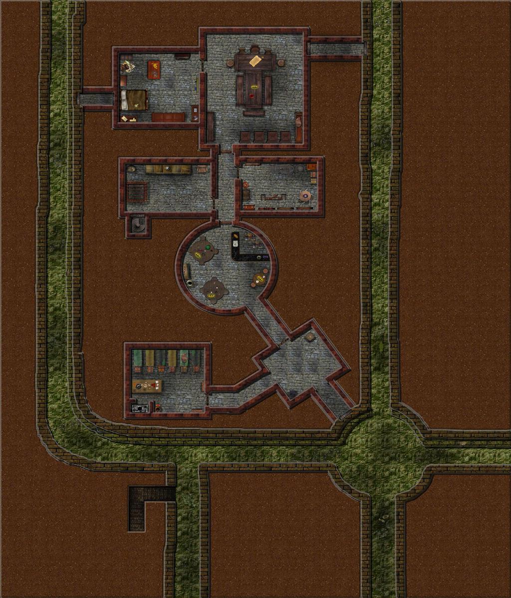 Thieves Guild 59x69 Bogie by Bogie-DJ