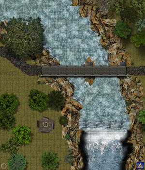 bridge encounter map-Grid bg