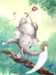 Elephant and the Fly