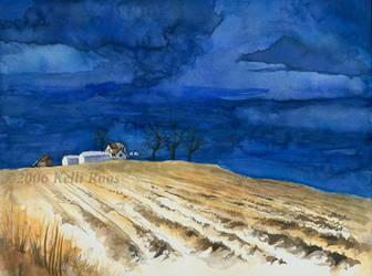 Moody Fall Prairie by KelliRoos