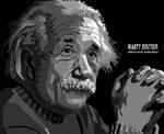 ALBERT EINSTEIN IN WPAP GRAY