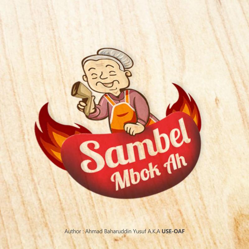 Logo Present - Mbok Ah by Yusuf-Graphicoholic
