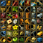 Forsaker Icons by quellion