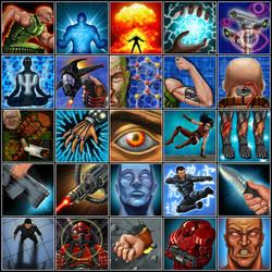 Starborn: Heritage Skill Icons