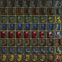 Deadlands:3000 Boots by quellion