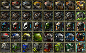 Deadlands: 3000 Helmets 1 by quellion
