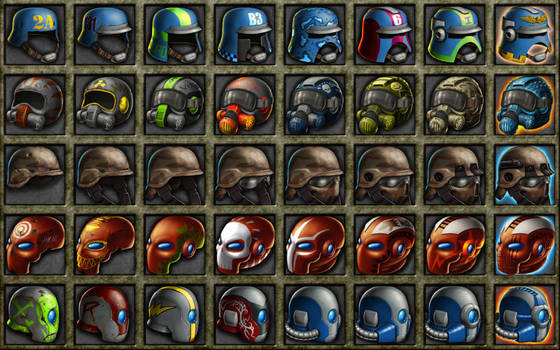 Deadlands: 3000 Helmets 2