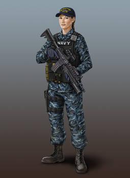 US Naval Infantry