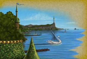 Swanport by quellion